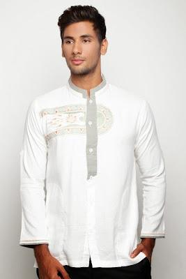 baju muslim pria polos