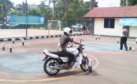 Tes Berkendara SIM C