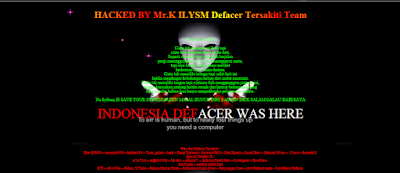 Pengadilan tilamuta has been hacked