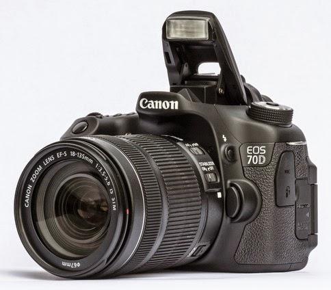 Kelebihan dan Spesifik Harga Lengkap Kamera DSLR Canon EOS 70D Terbaru