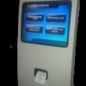 mesin antrian touchscreen