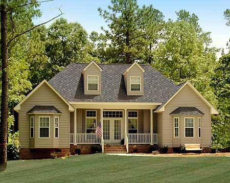 Frentes dise os de casas arquitectura decoractual for Fachadas de casas modernas tipo americano