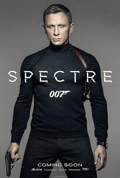 Poster Of Spectre 2015 480p Hindi HDRip Dual Audio