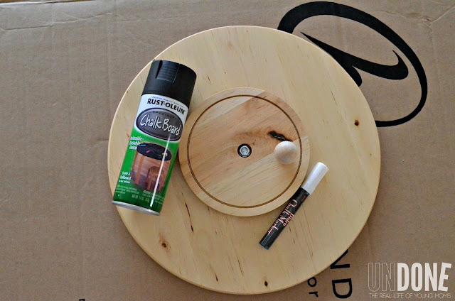 {UNDONE} Turn and Ikea Lazy Susan into and Activity Chart