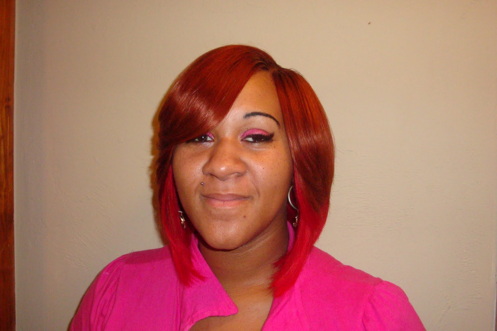 Bob with Invisible Part Sew in Weave Hairstyles