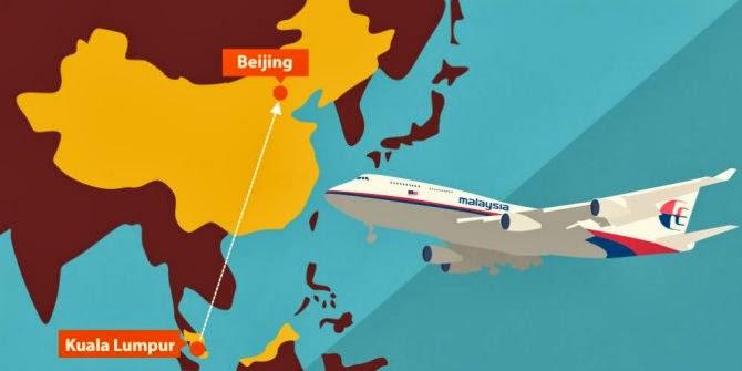 Foto Pesawat Malaysia Airlines Yang Hilang