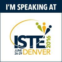 ISTE 2016 Presenter