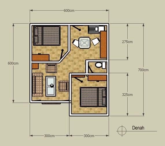 Foto Desain Rumah Minimalis Modern Tipe 36