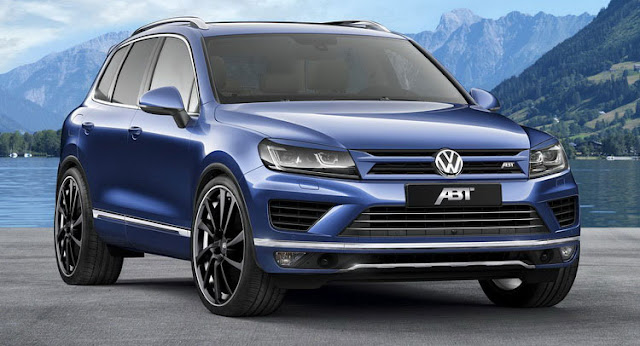 VW Touareg TDI ABT Sportline