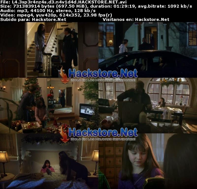 Captura La Esperanza de Navidad (2009) DVDRip Latino