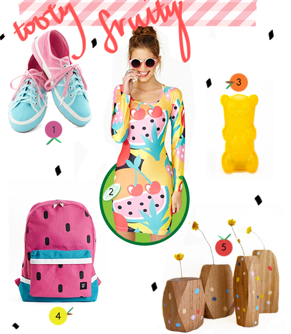 My favorite fruit-inspired fashion wear and accessories!