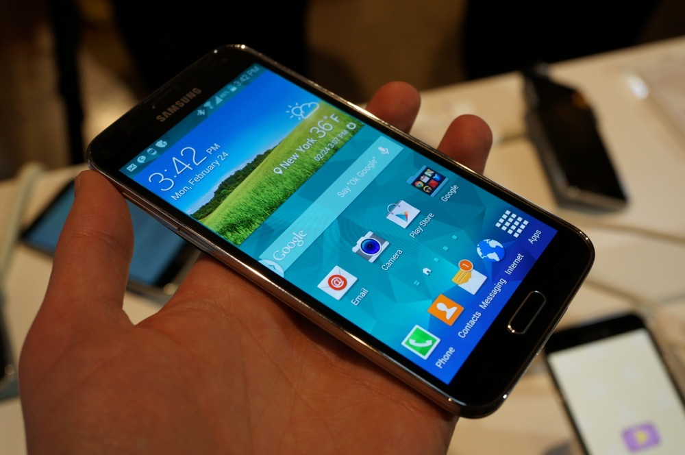 samsung galaxy S5 review with detailed features