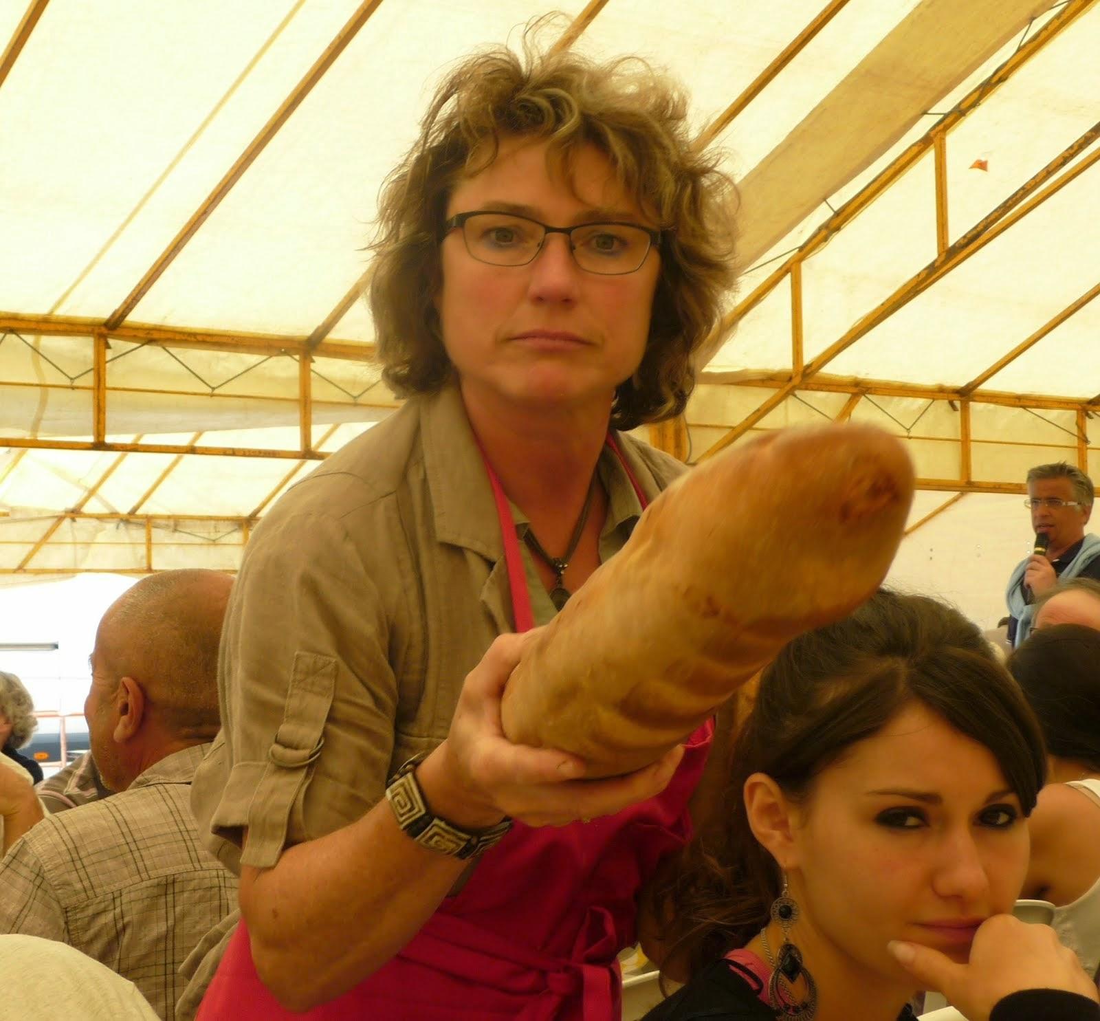 Your bread monsieur! Big enough?
