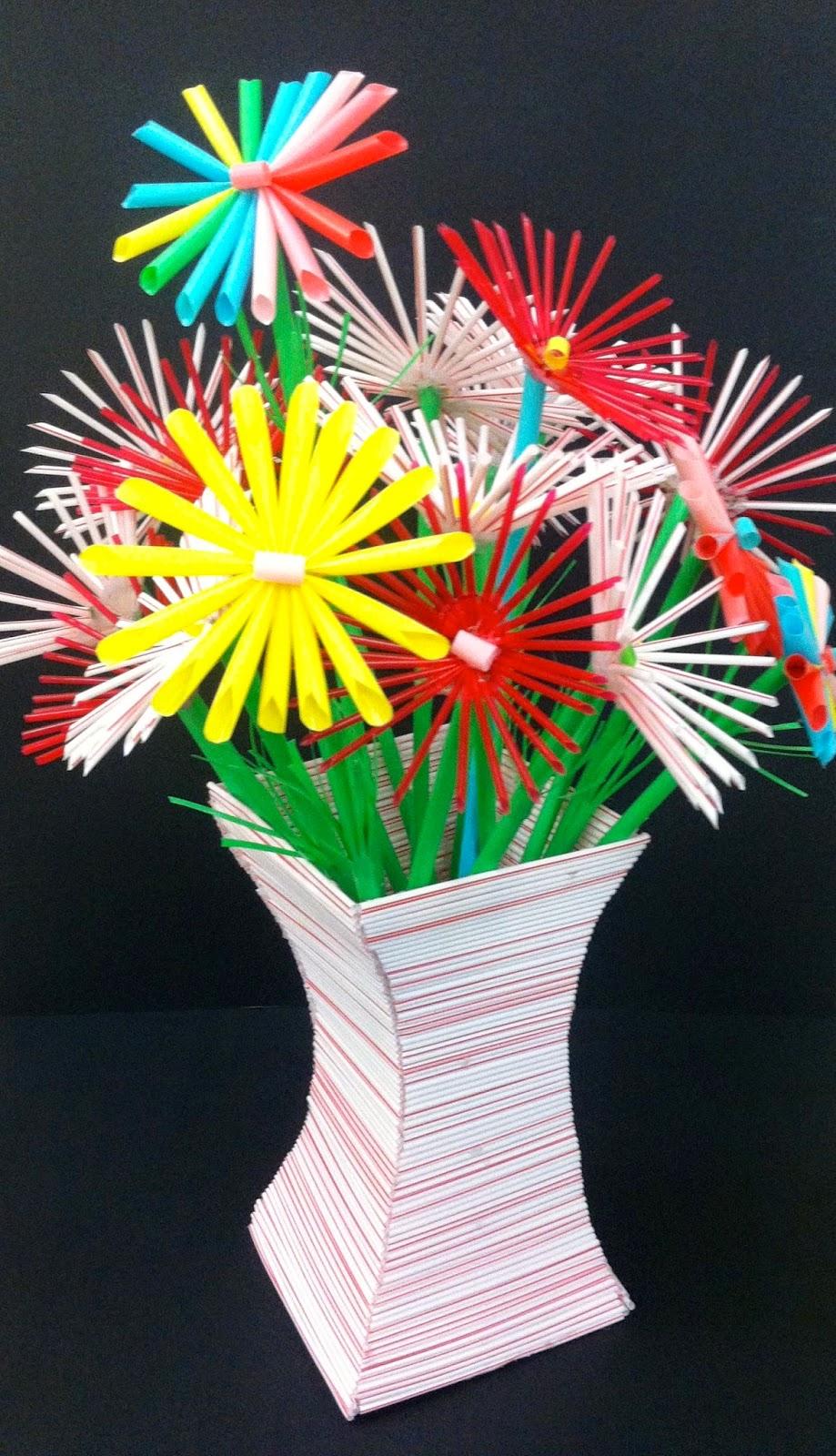 Kids Art Market Mass Straw Sculpture With Francesca Pasquali