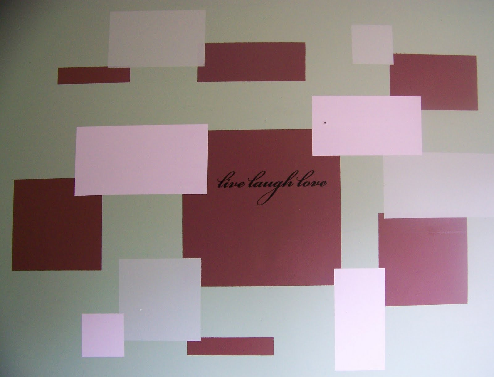 Paint Tape Design Ideas easily update your space with scotchblue painters tape finishing school This Design Was Created With Painters Tape To Mark The Areas Leftover Paint And An Imagination