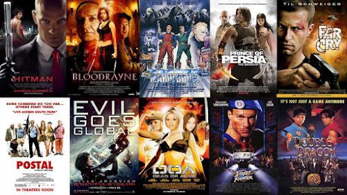 Filmes baseados em jogos de videogame não prestam