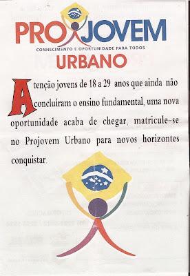Projovem Urbano em Viçosa do Ceará
