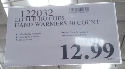 Deal for 40 pairs of Little Hotties Hand Warmers at Costco