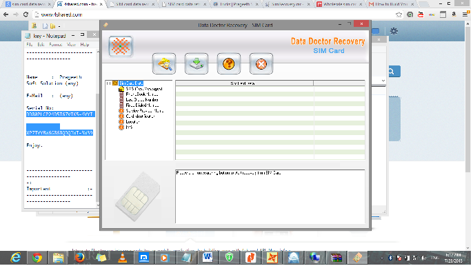 sim recovery software