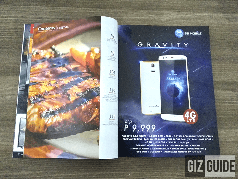 BS MOBILE GRAVITY TO ARRIVE THIS SEPTEMBER, PRICED AT 9999 PESOS!