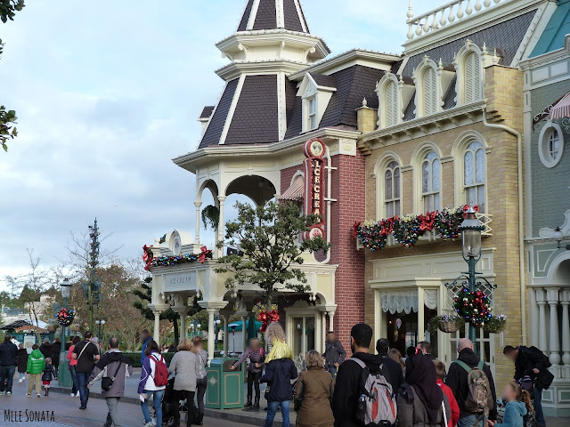 Mainstreet à Disneyland Paris
