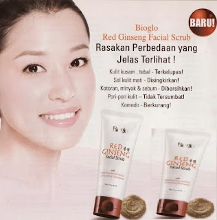 Bioglo Red Ginseng Facial Scrub