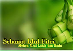 Maximuswatches mengucapkan Selamat Hari Raya Idul Fitri...