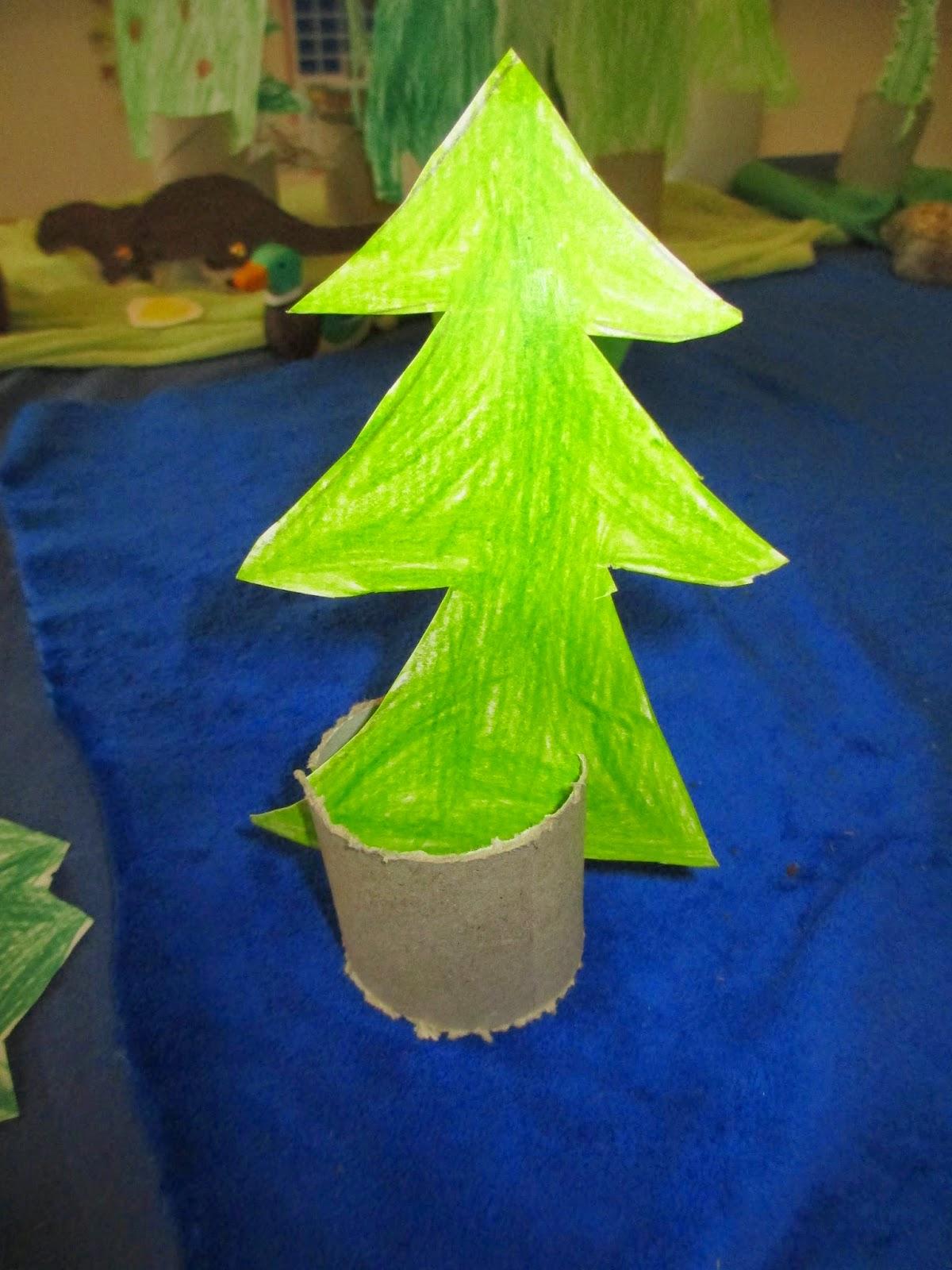 Baum für das Figurenspiel
