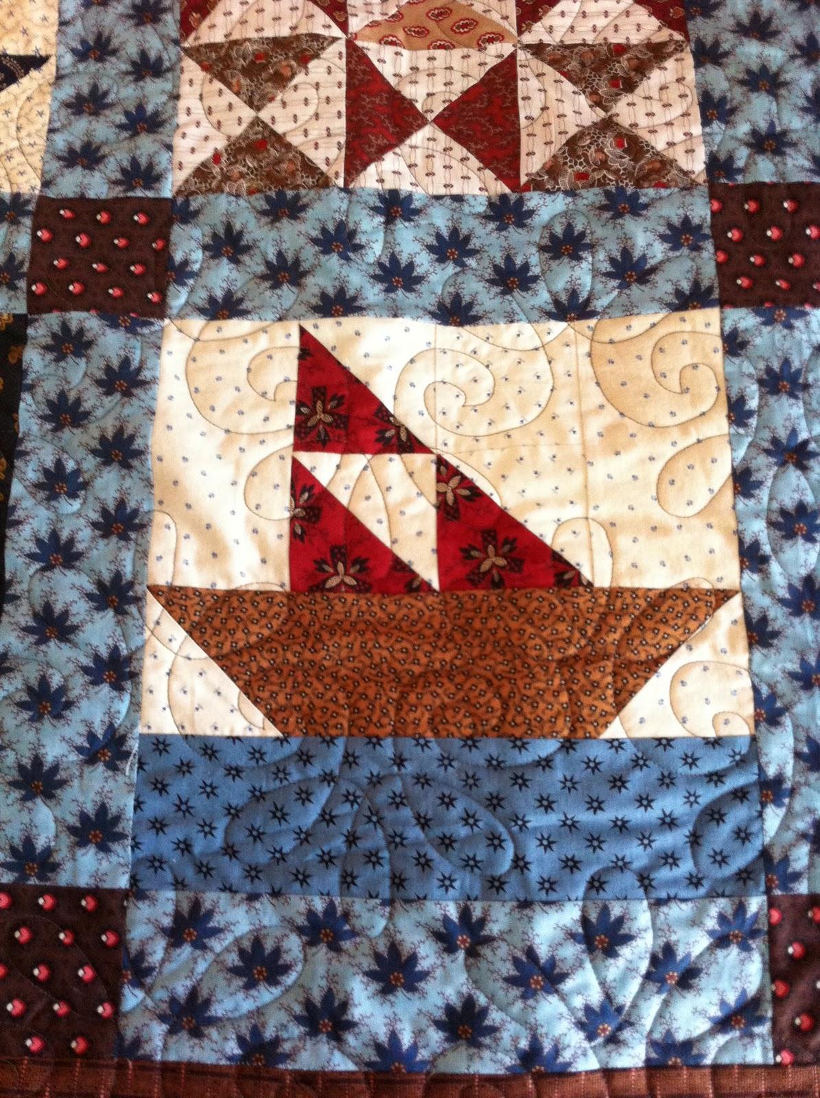 Quilt Patterns For Underground Railroad : Best Friends Quilting: Kasi s Underground Railroad Quilt