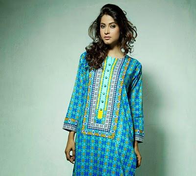 Latest Pret Dresses Collection 2014 By Bonanza