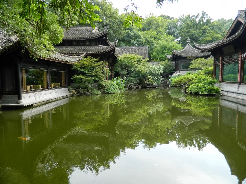 West Lake Flower Harbor Park Hangzhou  garden muses-a Toronto gardening blog