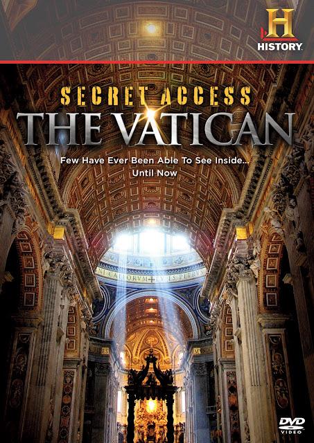 Sekrety Watykanu / Secret Access The Vatican (2011) PL.TVRip.XviD / Lektor PL