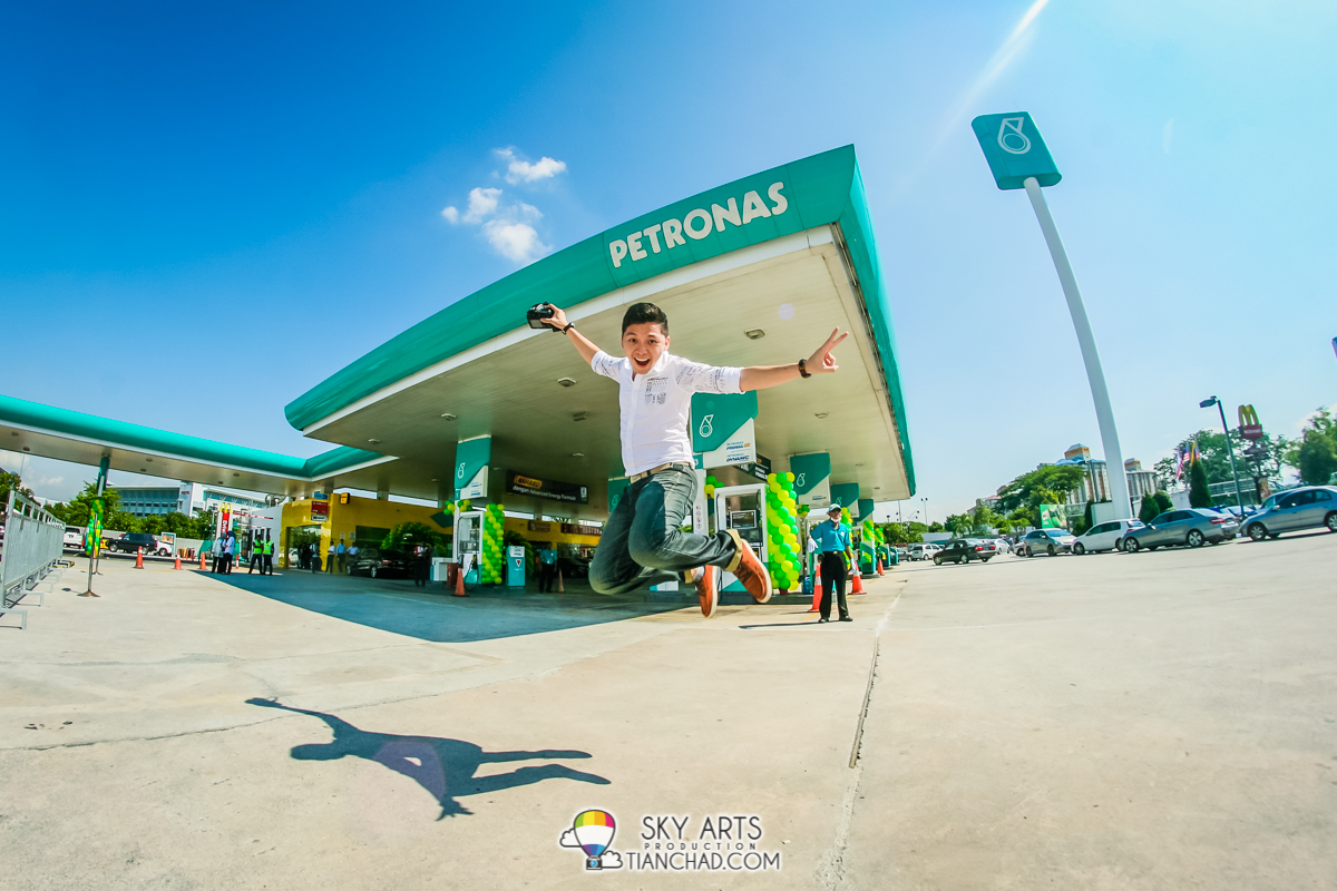 #TCJump at Petronas TPM in conjunction with their new PRIMAX 95 fuel launch