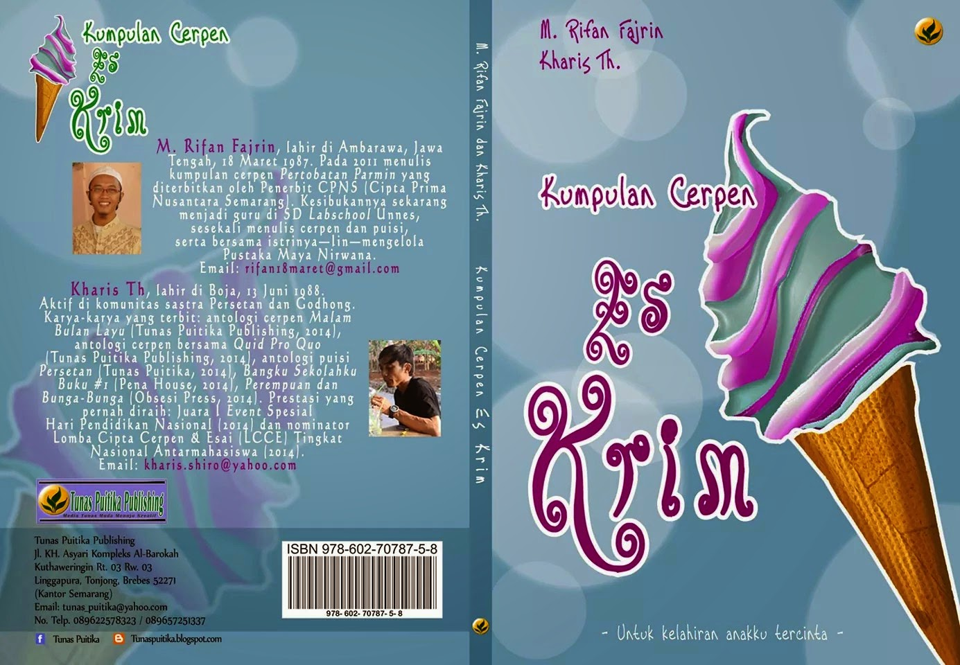 Cover Buku Kumpulan Cerpen Es Krim
