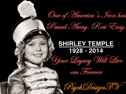 You Will Be Missed! Former Child Star Shirley Temple Dies at 85.