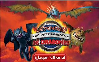 Juego Dragones Los jinetes de Mema  Leyendas de entrenamiento de