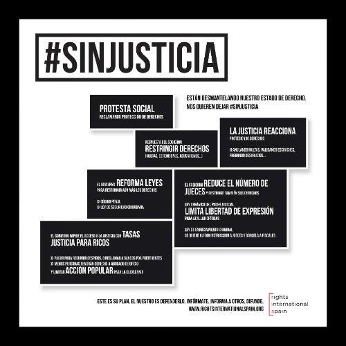#SinJusticia