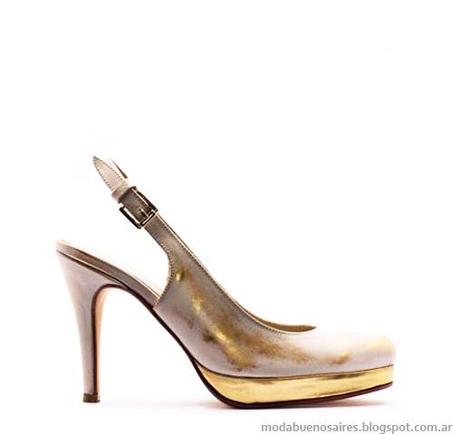 Anjou colección primavera verano 2015 zapatos stilettos de verano.