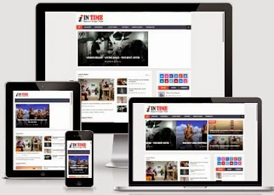 Intime - Magazine Responsive Blogger Template