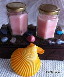 Two small jar candles