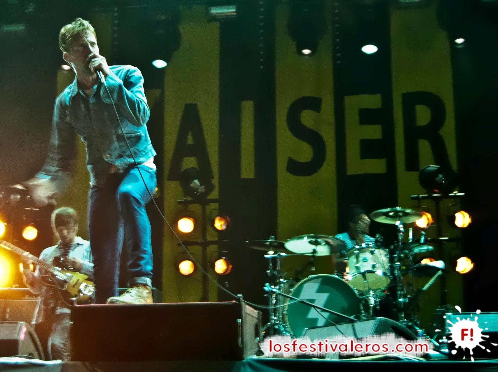 Kaiser Chiefs, Low Festival, 2014, Concierto