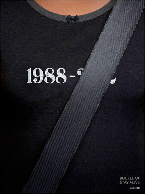 El cinturón de seguridad salva vidas