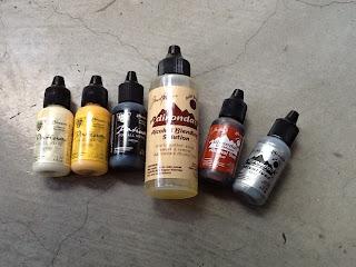 ranger inks, patina, mixatives