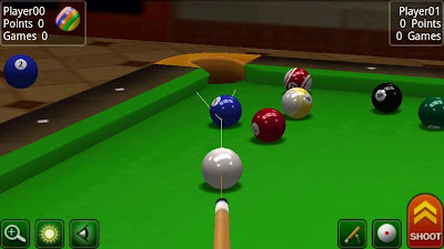 Game Addicted To Pool (Billiard) nokia qwerty series