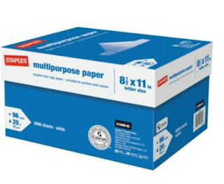 Staples: FREE Staples Multipurpose Paper After Staples Rewards