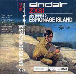 Sinclair ZX81 Espionage Island - The Frustrations of Text Adventure Games