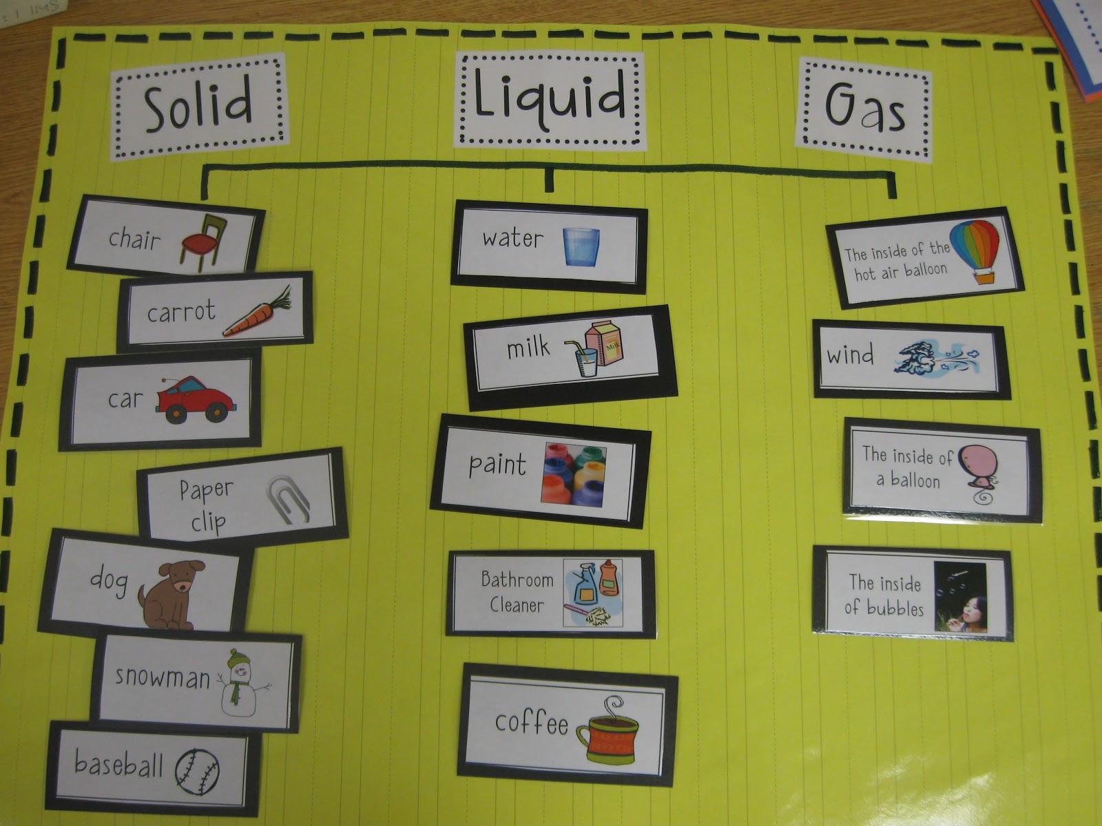 Teaching, Learning, & Loving: Matter: Solid, Liquid, & Gas!