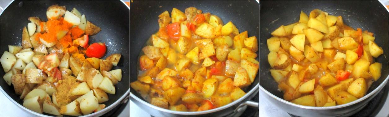 batata nu shaak gujarati potato curry ingredients needed potato cubed ...