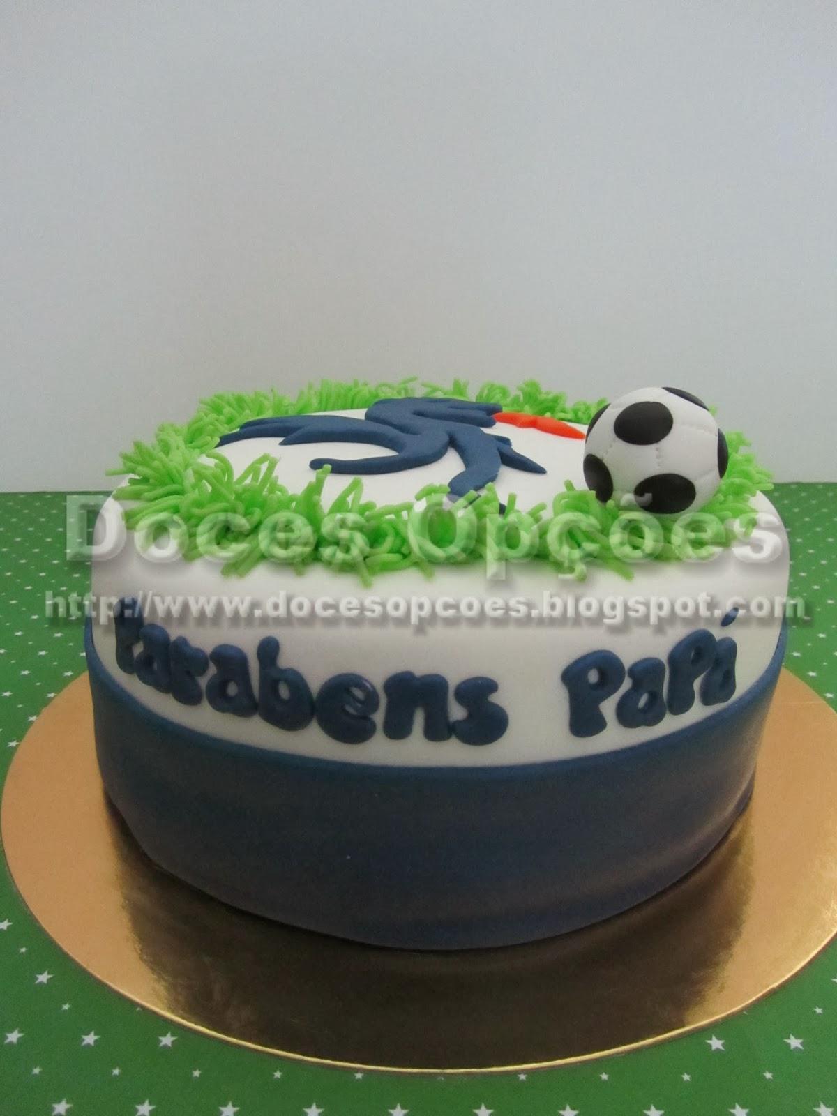 bolo aniversário porto
