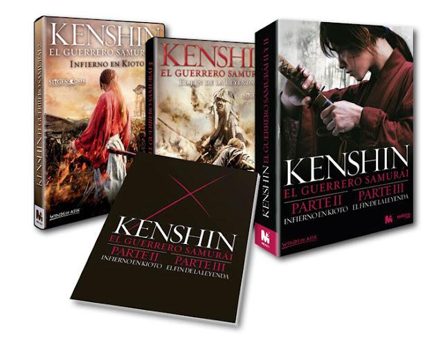 Concurso 'Kenshin, el Guerrero Samurái': Tenemos packs en DVD de las secuelas